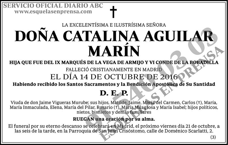 Catalina Aguilar Marín